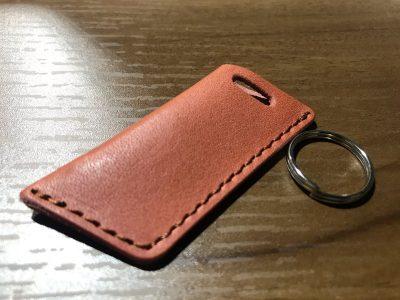 エネオスの新決済ツール、エネキー用革製カバーがお気に入りになった。