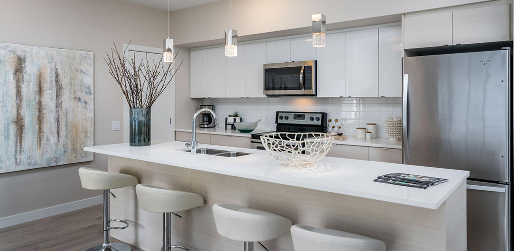 Modern Kitchen Design Breakfast Bar