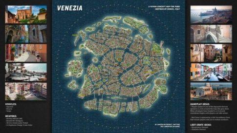 PUBG Yeni Haritası Sızdırıldı   VENEZIA MAP