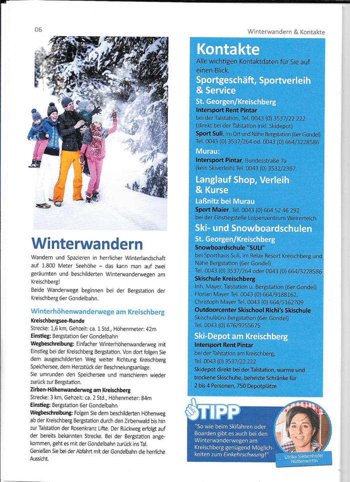 Murau Kreischberg winter tipps
