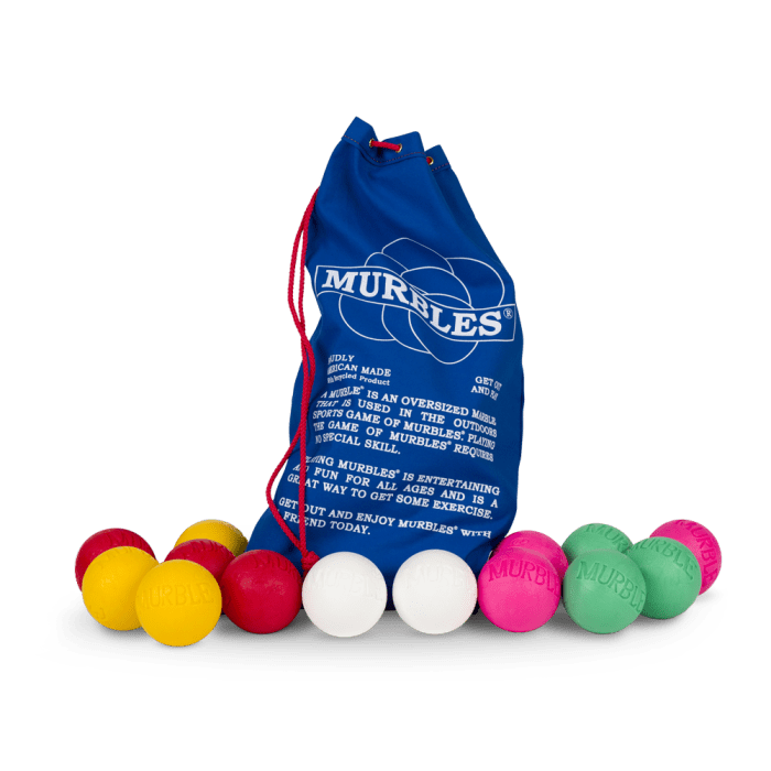 Murbles 4 Player 14 Ball Tournament Set