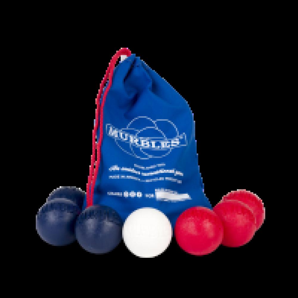 Murbles 2 Player 7 Ball Tournament Set Blue Bag