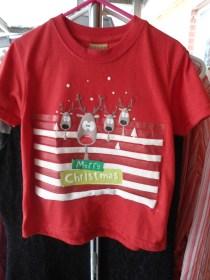 Child size Christmas t-shirts