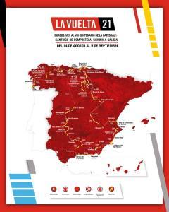 Vuelta a España Route includes the region of Murcia