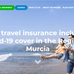 Free travel insurance including Covid-19 cover in the Region of Murcia