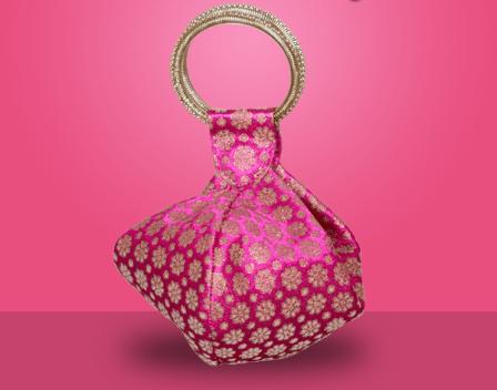 Murcia Bags for your royal silks and stunning chiffons
