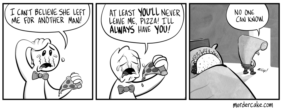 No pepperoni jokes, please.