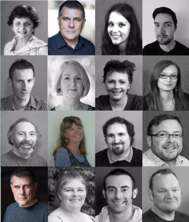Headshots of MurderedforMoney actors