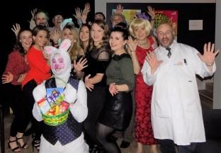 Winners + rabbit!