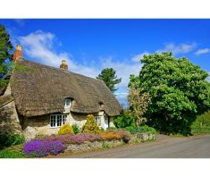 Miss Marbles' cottage