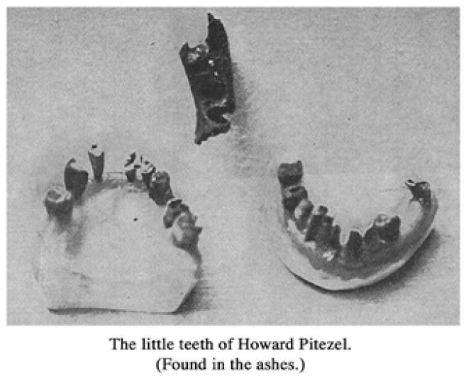 H.H. Holmes crime scene photo