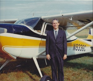 Pilot KC Poehler and his plane on one of his many adventures in Montana.