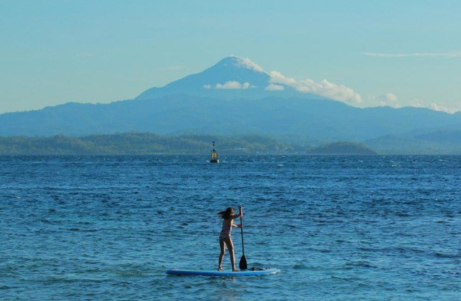 Stand Up Paddle Board fun in Bangka Island