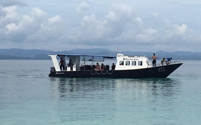Marisa Murex boat