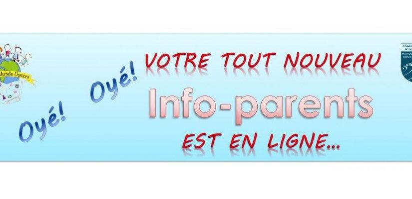 L'Info-Parents est en ligne…
