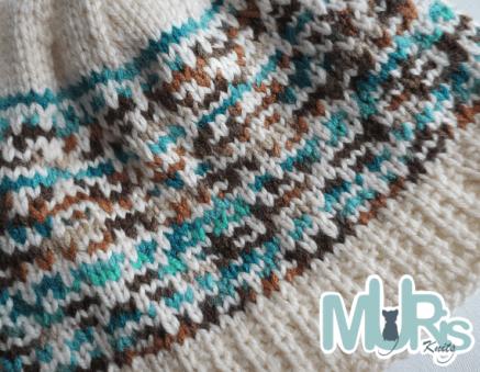 Mosaic Hat closeup