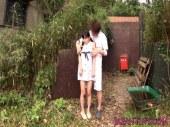 山の中に拉致され敏感なおまんこを弄られる地味カワ貧乳娘のれイプ 動画 38.5度 動画