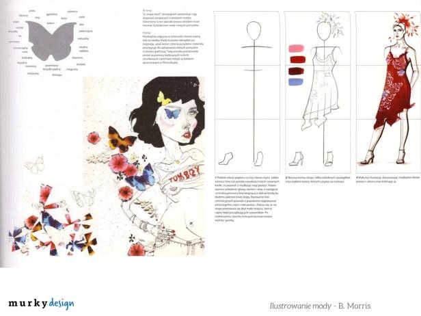 ksiazka ilustrowanie mody rysunek zurnalowy
