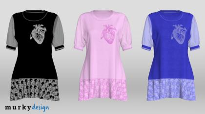 Wersje kolorystyczne - projektowanie odzieży 3D