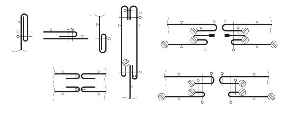 rysunki techniczne opis wykonania przekroje szwów