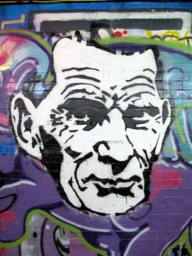 Samuel Beckett – Streetart - 3