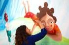 Esta niña africana representa una de las culturas más queridas por Nívola