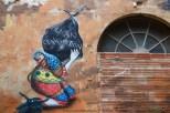 Detalle del mural de Skount