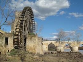 Waterwheel and Roman Bridge