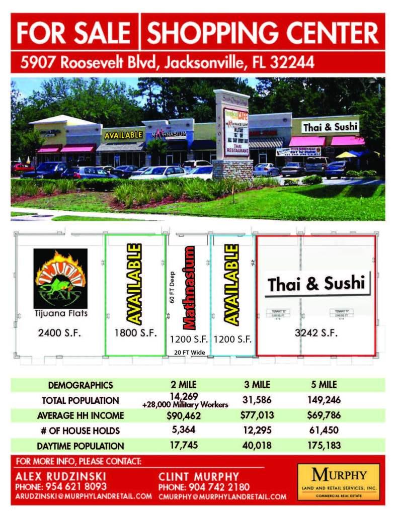 5907 Roosevelt Blvd, Jacksonville FL, 32244