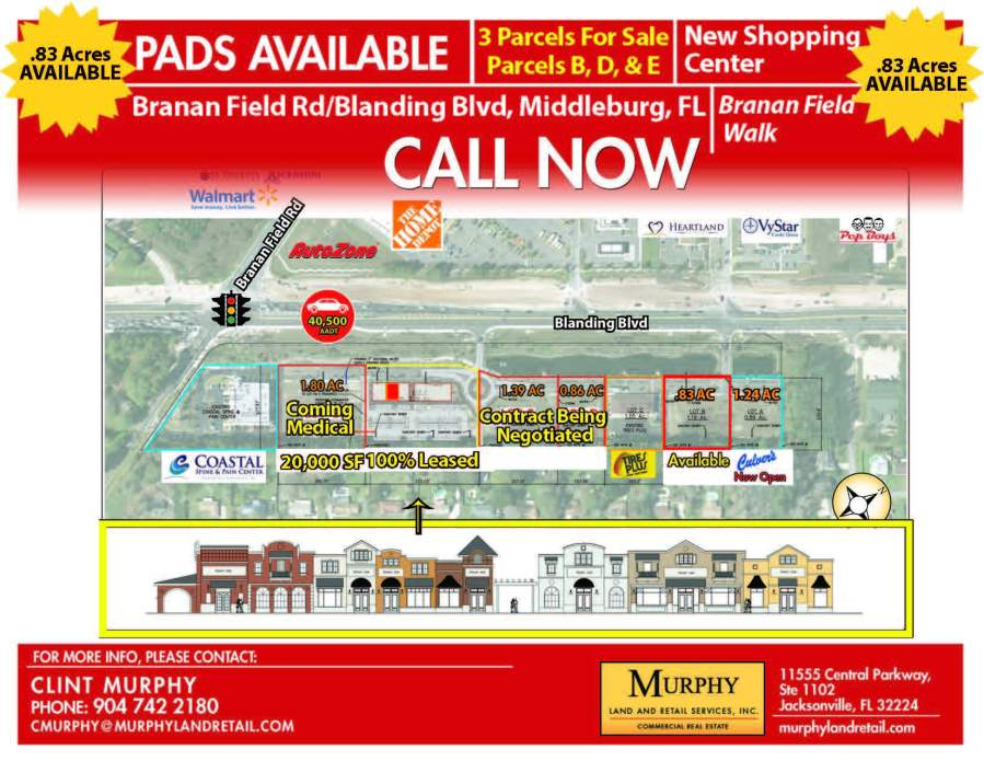 Branan Field Rd & Blanding Blvd Flyer