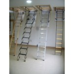 Space Saver Insulated Attic Stairs