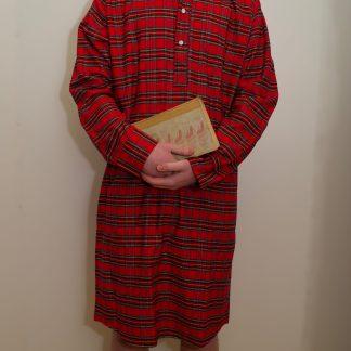 Tartan Irish Nightshirt Royal Stewart