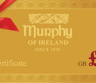 Murphy of Ireland £20 Gift Certificate