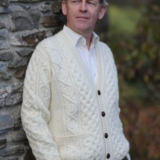 Derryveagh Cardigan Sweater Natural