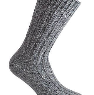 Donegal Tweed Sock - Grey
