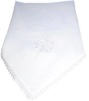 Linen Christening Blanket Tara Brooch