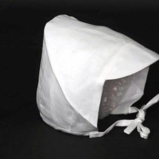 Linen Christening Bonnet