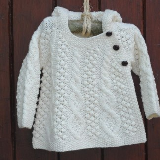 The Wee Aran Hoody Children's Aran Sweater