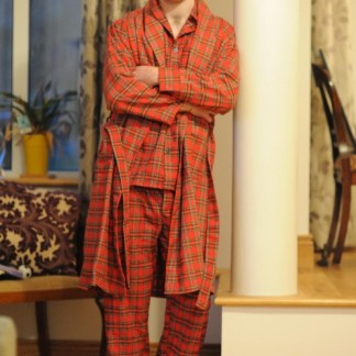 Pyjamas and Dressing Gown Set