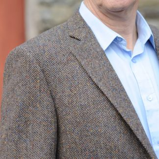 Kinvara Herringbone Tweed Jacket