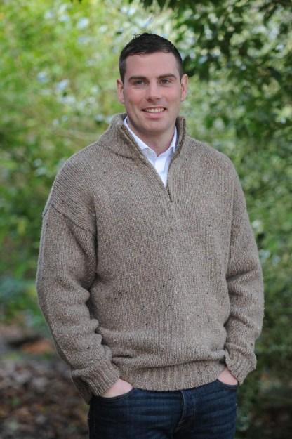 Achill Island Sweater Oatmeal