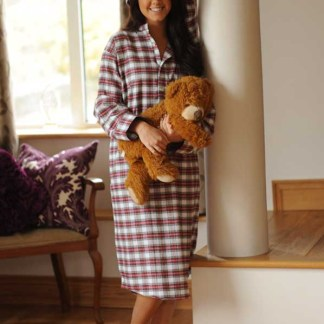 Gleneske Tartan Ladies Nightshirt Dress Stewart 1151