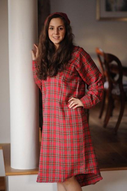 Gleneske Tartan Ladies Nightshirt Royal Stewart