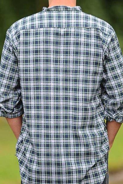 Grandfather Shirt Dress Gordon