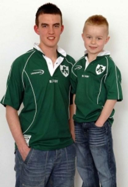 Childrens Irish Rugby Shirt