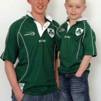 Childrens Irish Rugby Shirt