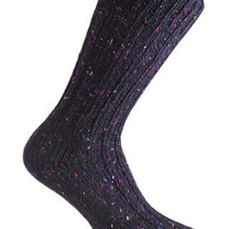 Donegal Tweed Sock Blackberry