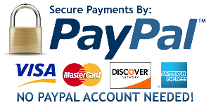Pay securely with PayPal or Credit Card
