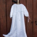 Irish Hand Crochet Heritage Christening Gown