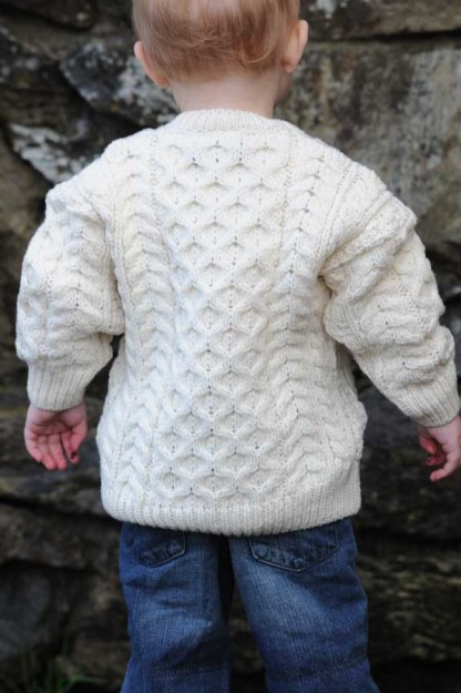 Wee Classic Childs Aran Sweater